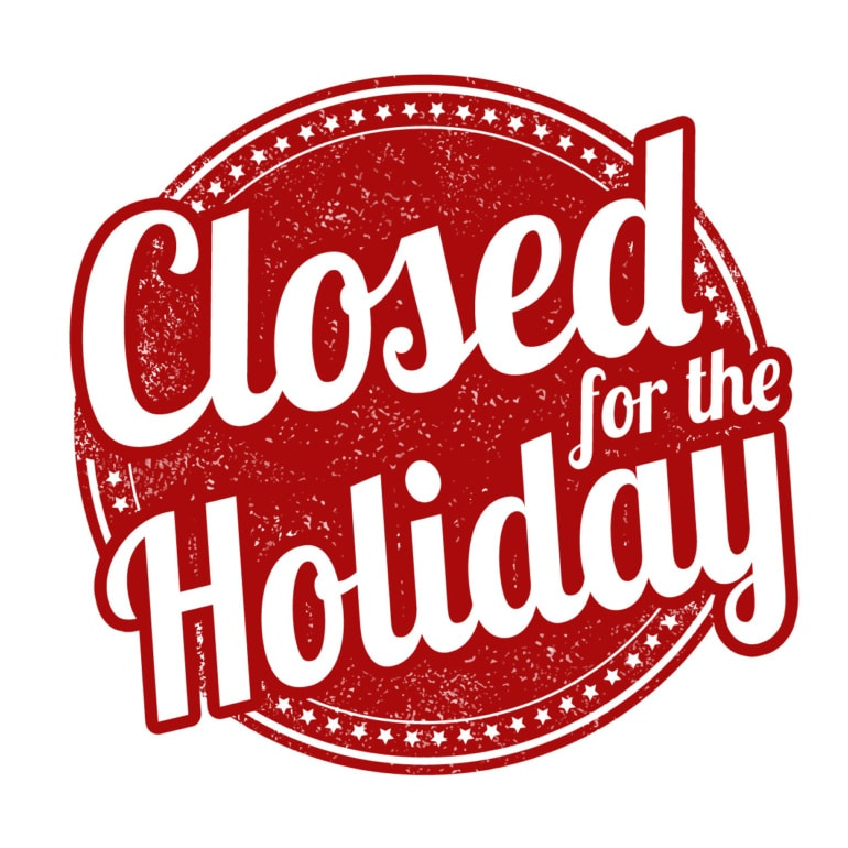 Closed for Noche Buena and Christmas Day